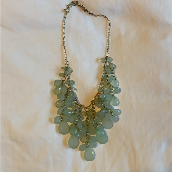 J Crew Necklace in Light Green